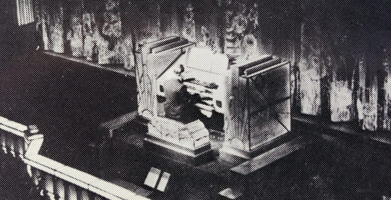 Cecil Chadwick playing The Mighty Compton Organ in 1933