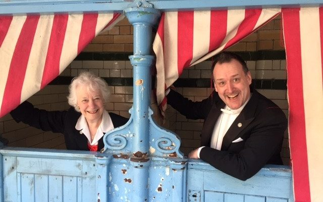 Teddie and Eve attending The Victoria Baths Heritage Open Day - 09.04.17