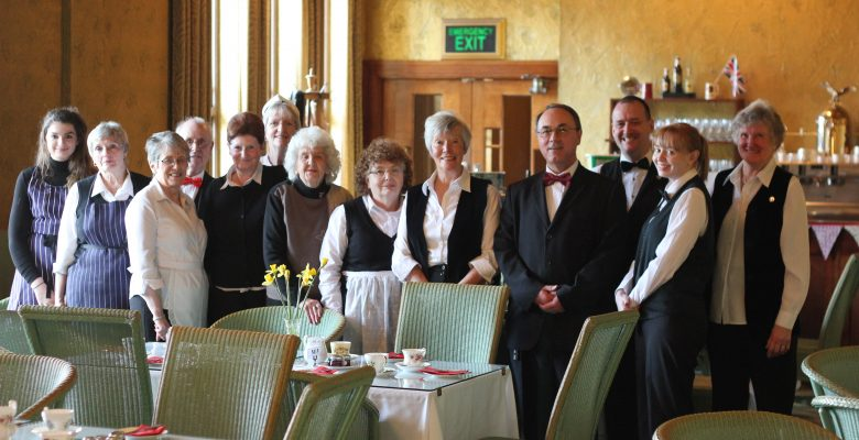 The wonderful Plazarettes ready for another 'sell out' Everything Stops for Tea Fundraising Event - 28.02.16