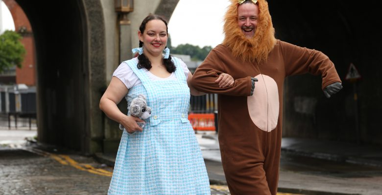 Follow the cobble brick road to Stockport Pride