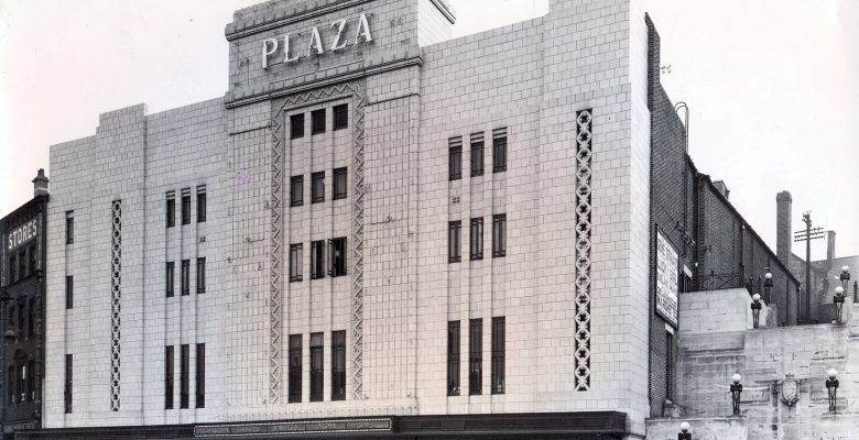 The Plaza Facade in all its glory during the opening week in October 1932