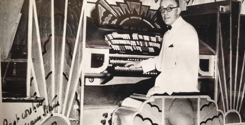 William Starr at The Mighty Comton Organ in 1957