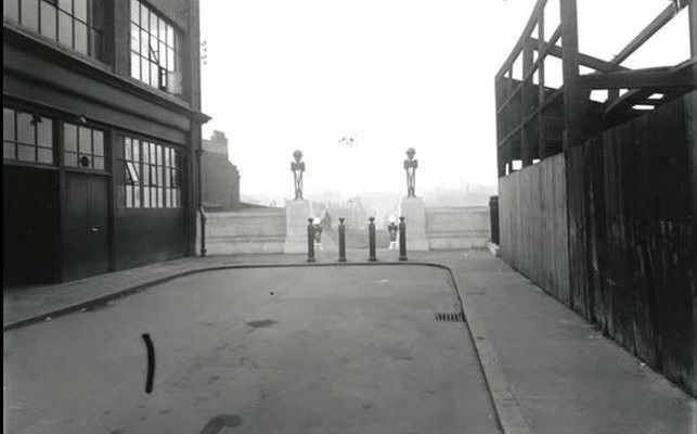 Approach to Lawrence Street, later known as Plaza Steps - Pre October 1932