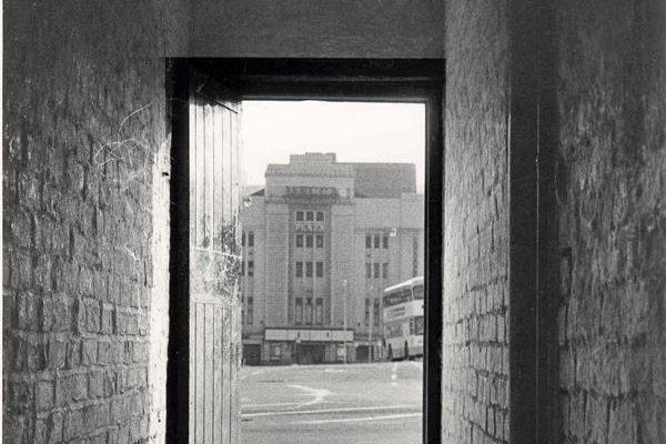 The Plaza during her Mecca Bingo days taken from a ginel beside a tripe shop where Debenhamds Department Store now stands
