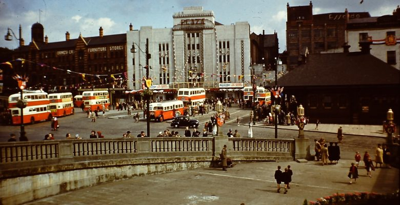 The Plaza during the 1953 Coronation Year in a photograph taken by W.Rhodes Marriott