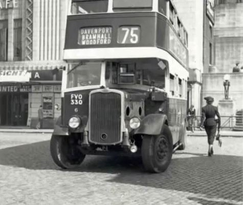 Bus Terminus with Plaza Facade