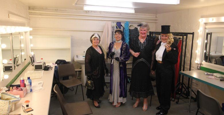 Glamorous Plaza Ladies ready to welcome their guests at our 'Anything Goes' Art Deco open day - 06.06.15