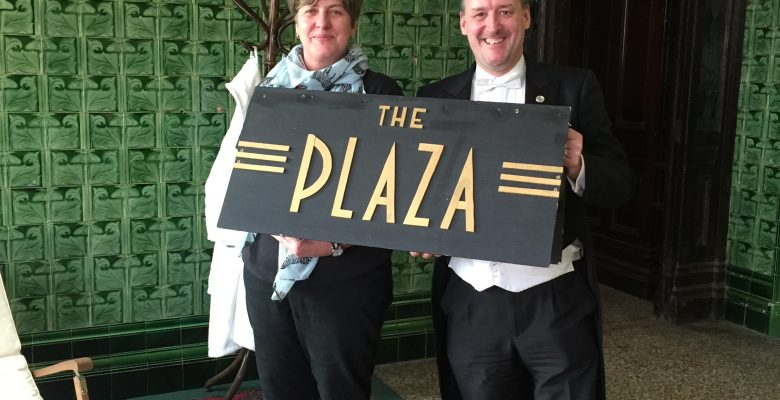 The last Plaza Mecca Manager Sibby meets the first Plaza General Manager Ted Doan - 09.04.17