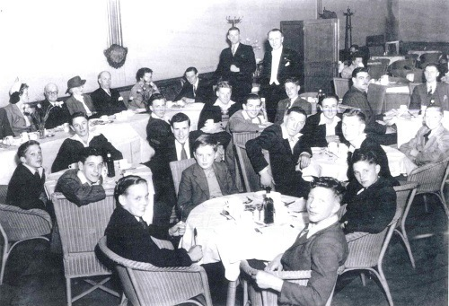 Stockport Boys Football Club reception 1946