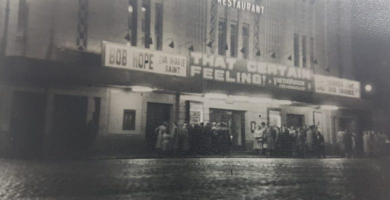 The Plaza screening 'That Certain Feeling' in 1956